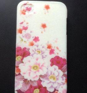 Чехол для IPhone 4 цветы