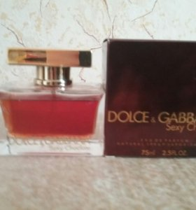 DOLCE@ GABBANA Sexy Choclate