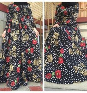 Платья штапельные разные