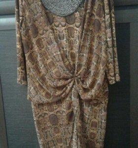Шикарное платье 50-54