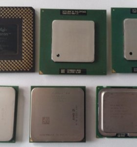 Процессоры (Socket 370, S939, 775) б\у