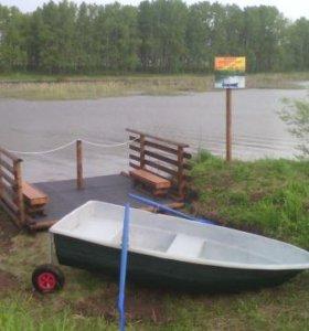 Гребная лодка-Спринт - под мотор до 3 л. с.