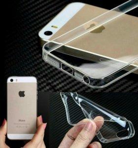 Силиконовый чехол на iPhone 4,5,6(+),7(+)