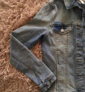 джинсовая куртка springfield