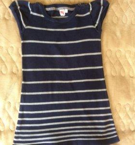 Платье трикотажное 4-5-6 лет