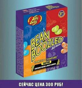 Бобы Bean Boozled со странными вкусами