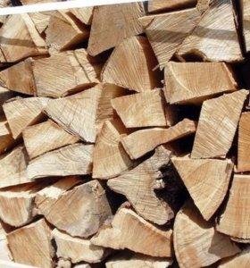 дрова береза колотые