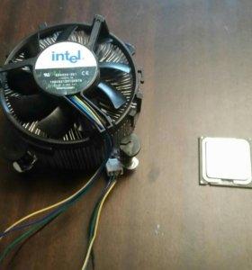 Кулер Intel c процессором intel04pentium4