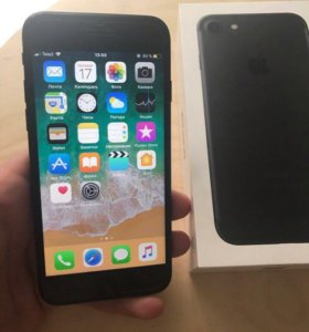 Iphone 7 32gb black рст