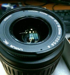 Объектив Canon EF-S 18-55mm 3.5-5.6 II
