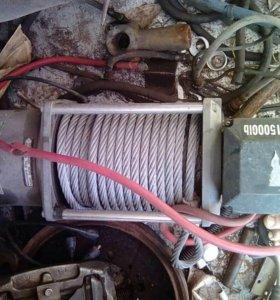 Лебедка электрическая 12v