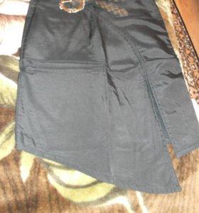 юбка на флисе 44р
