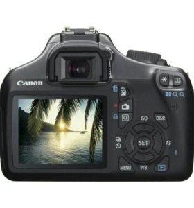Canon EOS 1100D + объектив