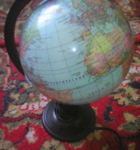 Глобус школьный с подсветкой