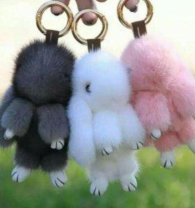 Зайцы брелки