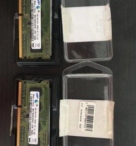 Планки памяти для ноутбука ddr3 1gb
