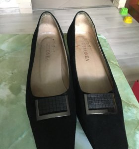 Замшевые туфли,размер 36