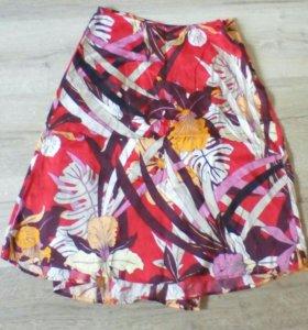 MEXX шелковая юбка 2 в 1