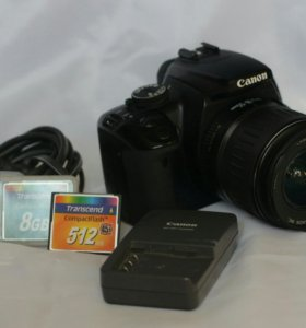 Canon eos 400d + kit 18-55 3.5-5.6