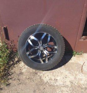 Комплект колес R17 235/60 литье, зимние без шипов