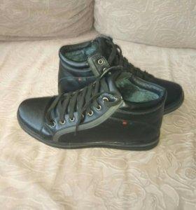 Мужские ботинки 40 р-р