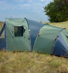Палатка кемпинговая, 6-тиместная.