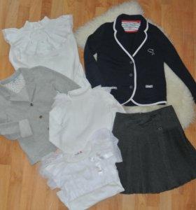 Школьные вещи для девочки (пакетом)