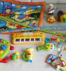Игрушки музыкальные развивашки