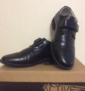 Школьный туфли, разм 35