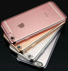 Силиконовый чехол iphone 5/6/7/plus