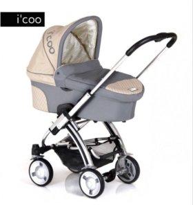 Детская коляска трансформер i'Coo Pii