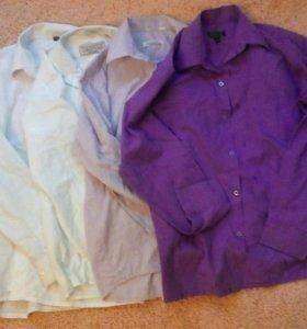 Школьные рубашки пакетом 146-152