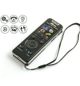 Цифровой диктофон, МР3 плеер