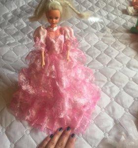 Кукла барби +платье