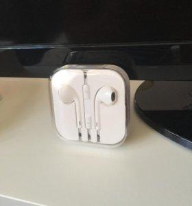 Наушники внутриканальные Apple EarPods 3.5mm НОВЫЕ