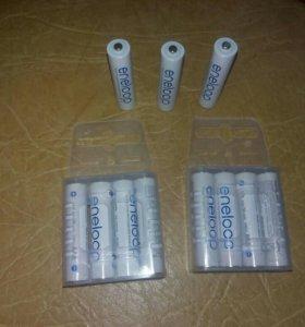 Аккумуляторы PANASONIC Eneloop AAA, 4 шт.(BK-4MCC)