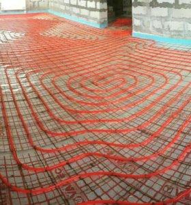 Монтаж отопления и водоснабжения в коттеджах