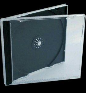 Коробки для хранения CD/DVD дисков