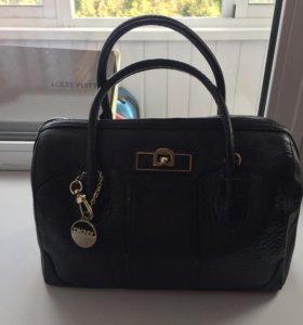 Новая кожаная оригинальная сумка DKNY
