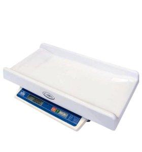 Электронные детские весы для новорожденных САША