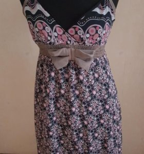 Платье сарафан шифоновое