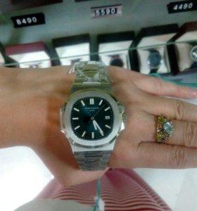 Часы Patek Philippe Nautilius Silver