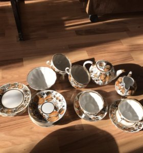 Набор для чаепития на 6 персон.