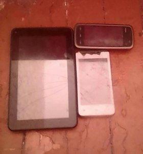 Телефоны планшет на запчасти