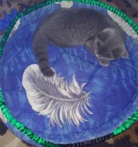 Лежанка для кота большая 47×40