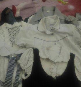 Блузки и жакеты