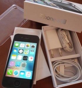 iPhone 4s 16gb black идеальный