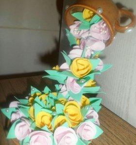 Корзины цветы топиарии декор для дома!!!