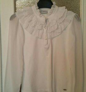 Блузка школьная, размер 140