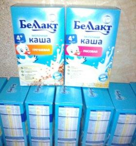 Каша молочная гречневая и рисовая